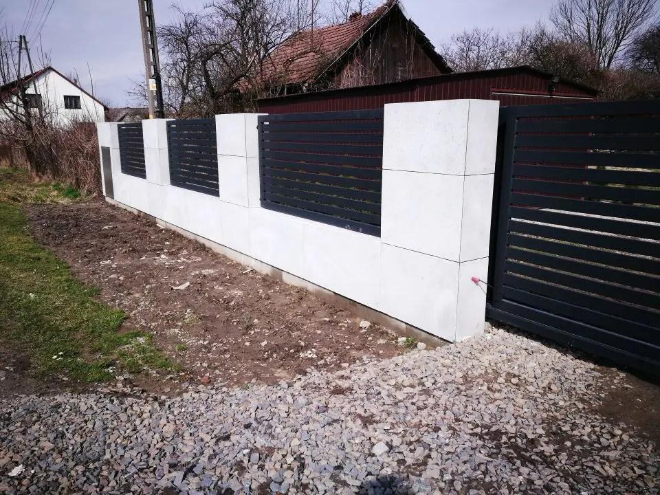 ALUgate ogrodzenie aluminiowe AG100 2