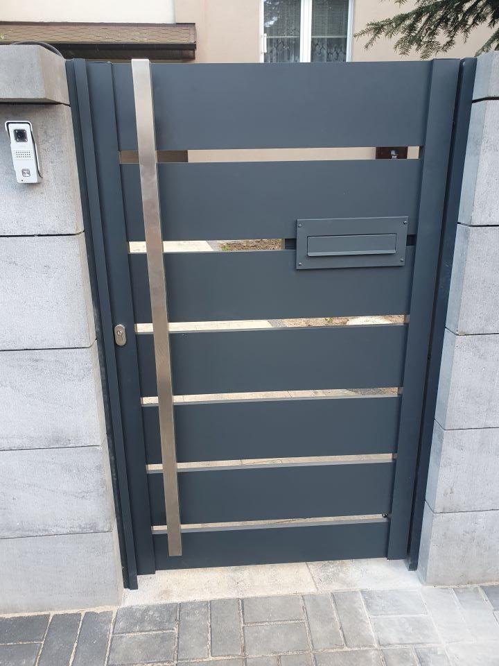 ALUgate ogrodzenie aluminiowe AG200 5