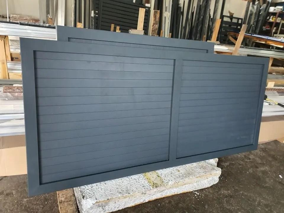 ALUgate ogrodzenie aluminiowe FULL 3