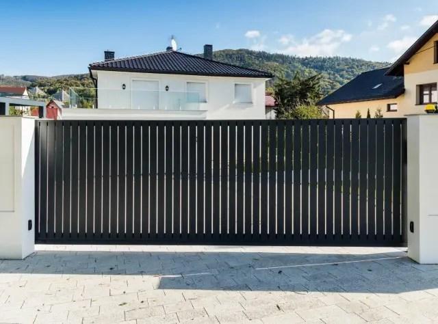 ogrodzenie aluminiowe ALUgate VERTICAL 3