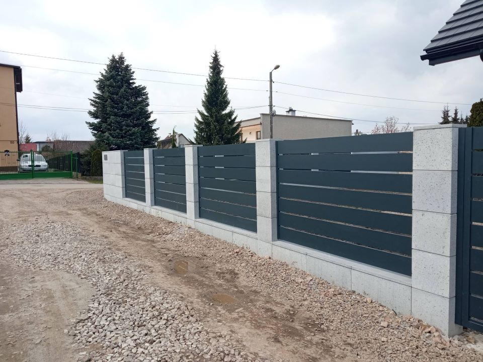 ogrodzenie aluminiowe ALUgate AG200 - BORDER 10
