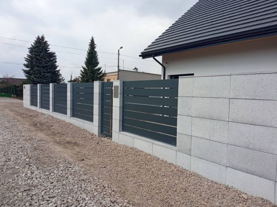 ogrodzenie aluminiowe ALUgate AG200 - BORDER
