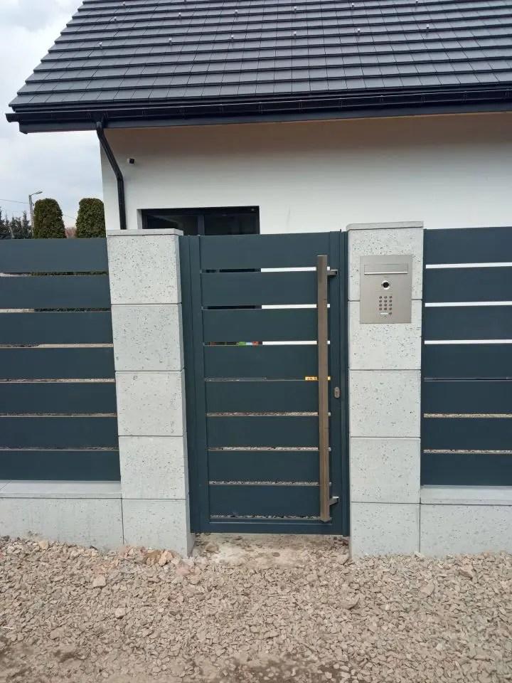 ogrodzenie aluminiowe ALUgate AG200 - BORDER 5