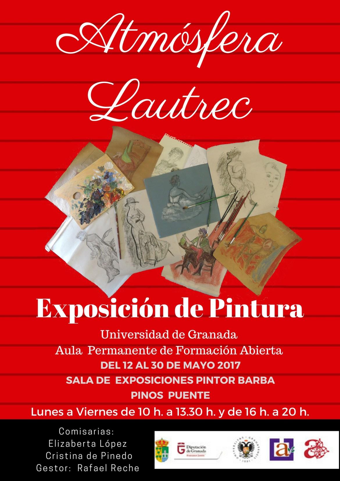 Cartel Exposición Aula Universidad Granada Pinos Puente (1)