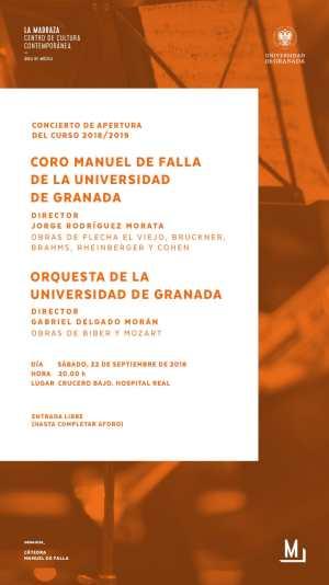 Concierto Inauguración Curso 2018-2019