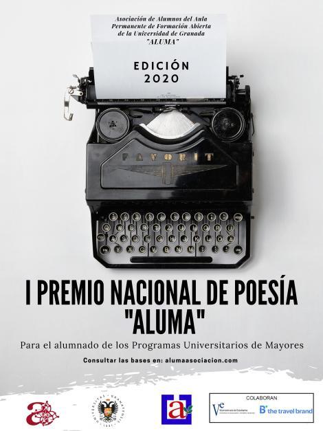 Cartel I Premio Poesía