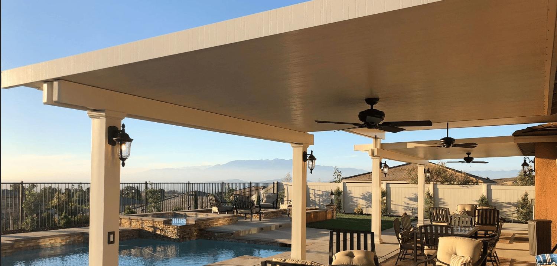 aluminum patio covers redlands alumawood
