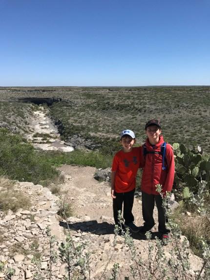Canyon hike