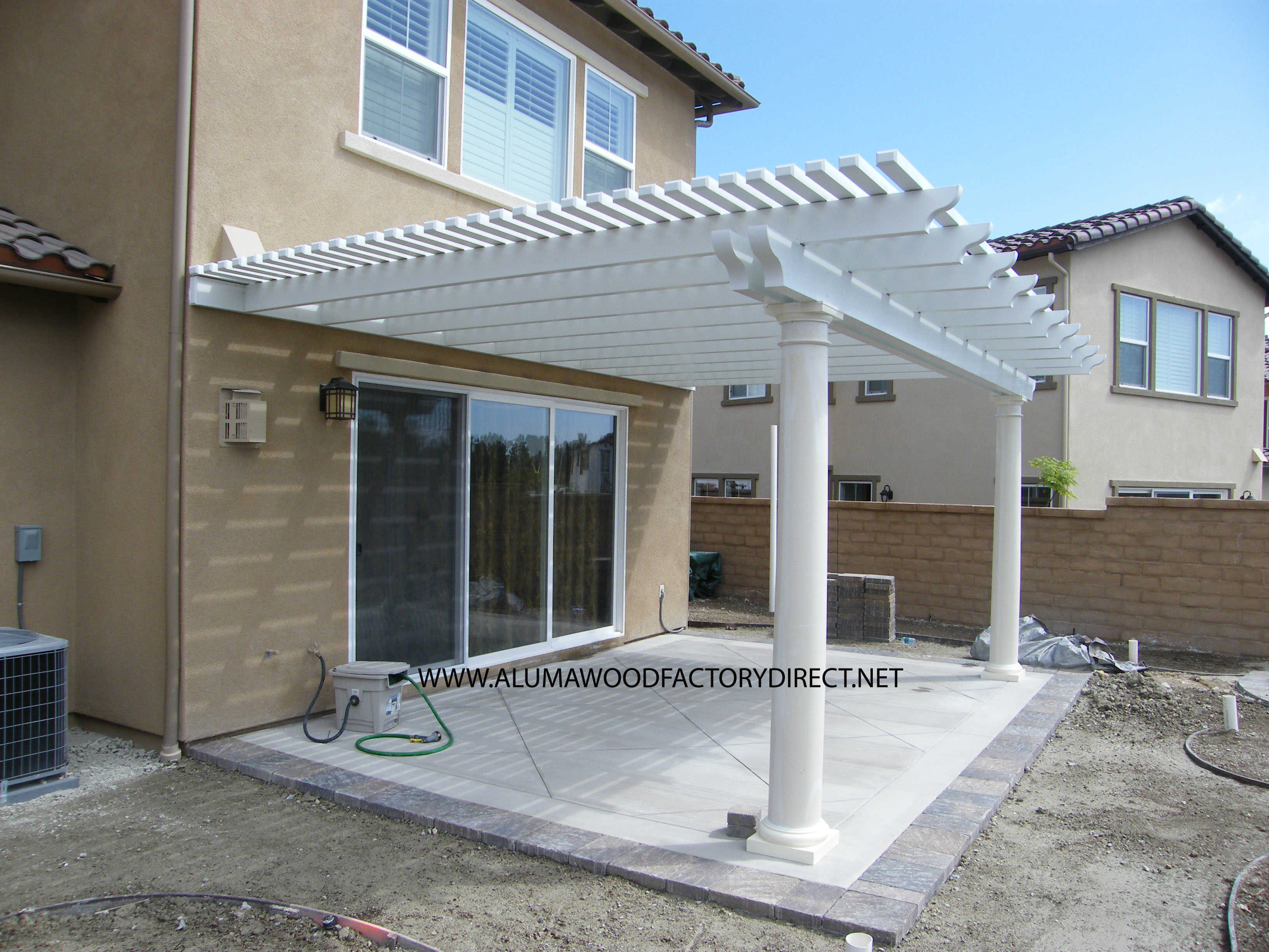 aluma wood patio covers is not real