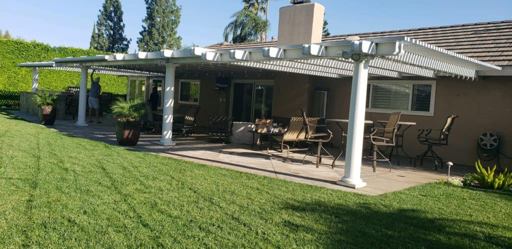 equinox louvered system patio cover