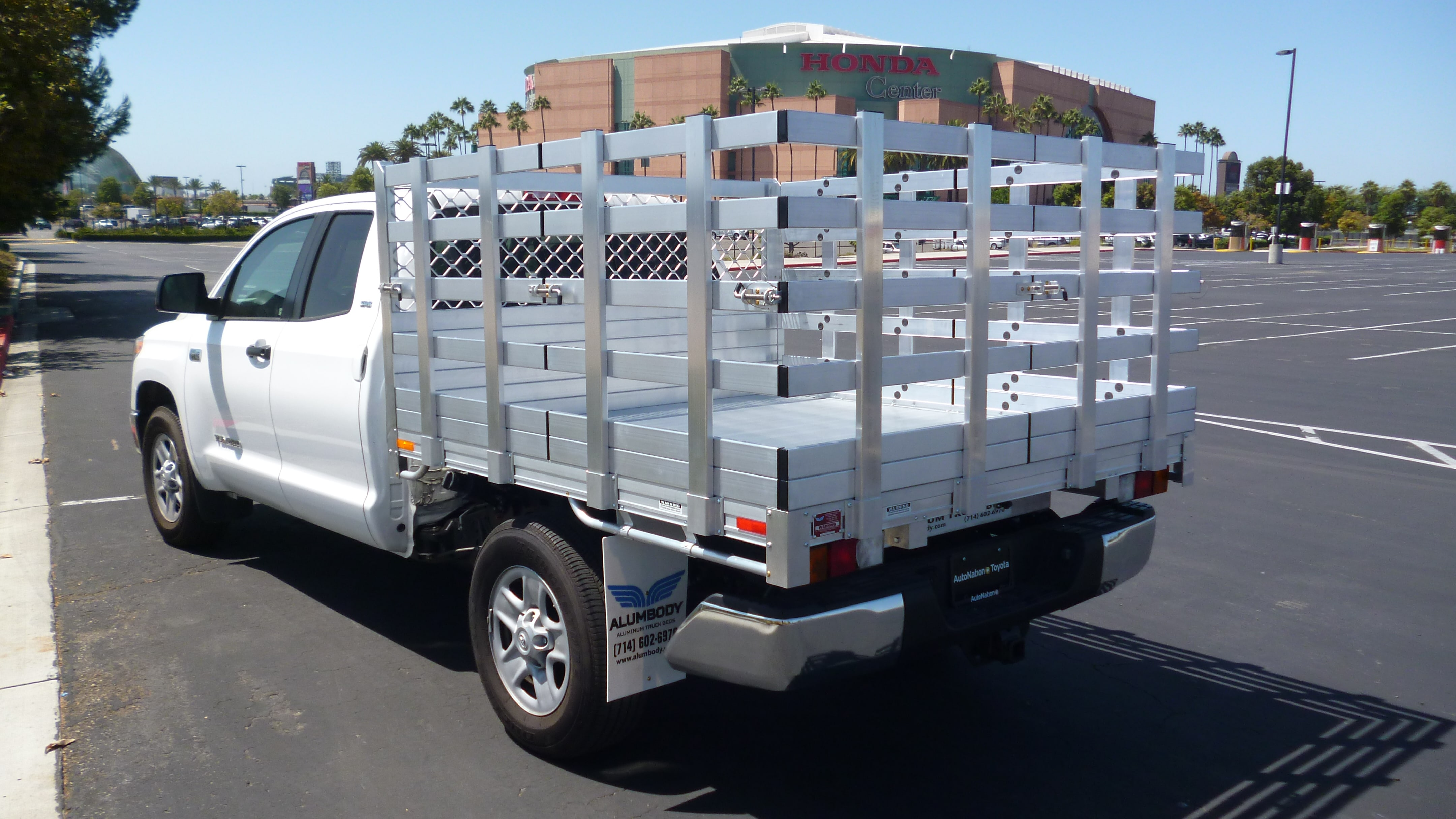Toyota Aluminum Truck Beds Alumbody 2004 Tundra Double Cab Lifted With A 7 Bed Six 38 Lift Out Gates Sides And Rear Using Their Factory Bumper