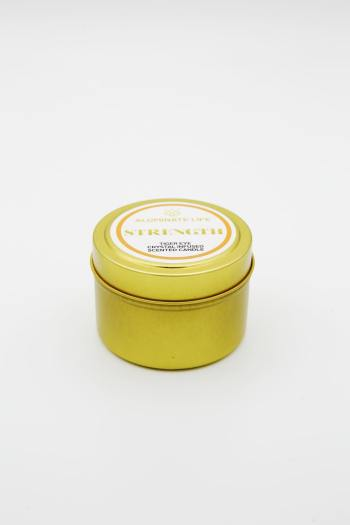 Tiger Eye Infused Strength Candle Tin 3