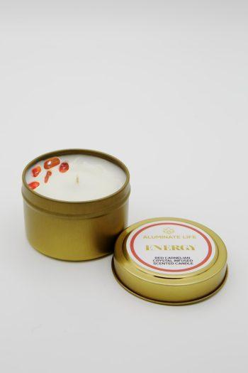 Energy Candle Tin by Aluminate life