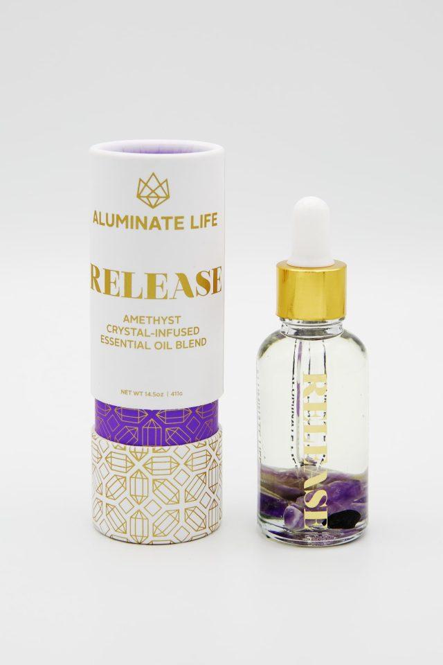Aluminate Life Release Essential Oil Vial