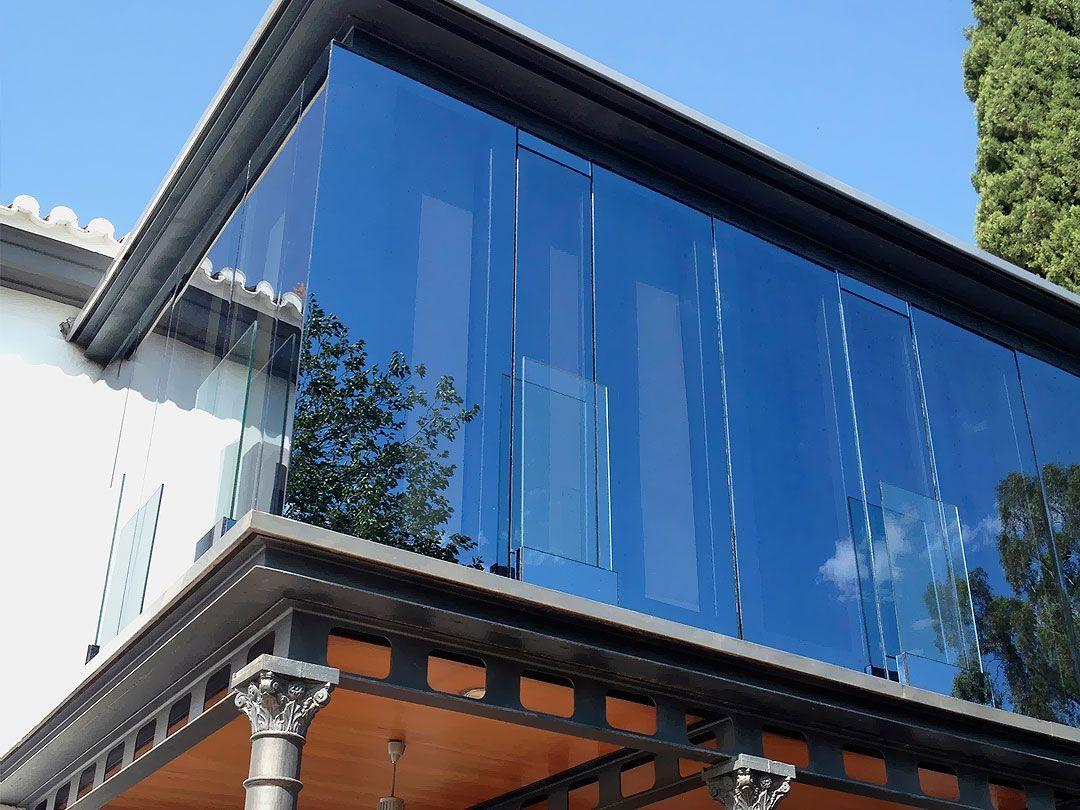 Cerramiento de terraza  Aluminios Damarta