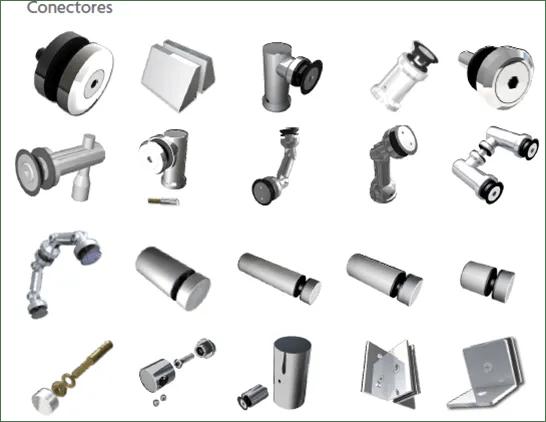Puertas para ba o soluciones para la nueva arquitectura for Herrajes de aluminio para toldos