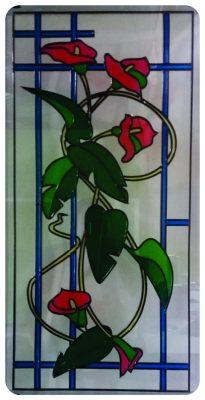 vitrales para puertas|vitrales sencillos