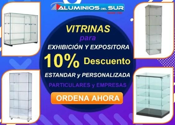 NUEVAS: vitrina de madera y vidrio en tegucigalpa, honduras