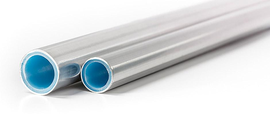 Lackat aluminiumrör klär in kompositrör