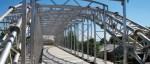 Lätt rysk aluminiumbro byggd