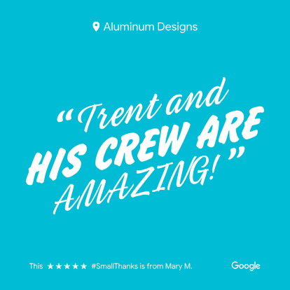 "customer review ""Trent and his crew are amazing!"" 5-stars"