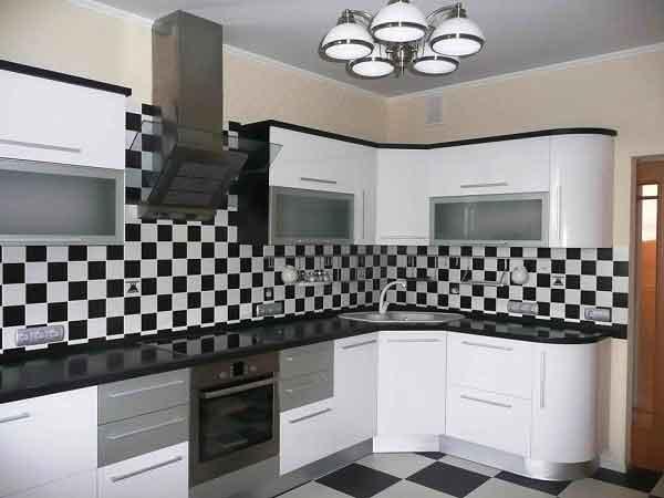 مطبخ ابيض مودرن