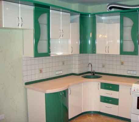 مطبخ مودرن صغير
