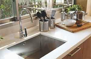 احواض المطبخ الاستانلس الجرانيت والرخام