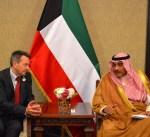 رئيس (الصليب الاحمر) الدولي يشيد باهتمام سمو امير البلاد بالقضايا الانسانية
