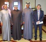 الفارس يبحث سبل التعاون مع مؤسسة قطر للتربية والعلوم