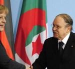 """""""التعذر المؤقت"""" لبوتفليقة يؤجل زيارة ميركل إلى الجزائر"""