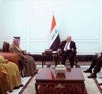 العبادي يستقبل الجبير في بغداد
