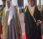 سمو أمير البلاد يغادر مسقط بعد زيارة رسمية