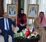 الخالد التقى وزير الدفاع التركي