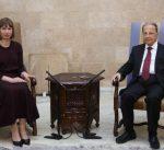 الرئيس اللبناني يؤكد الحرص على تعزيز العلاقات الثنائية مع استونيا