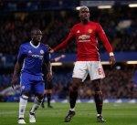 جماهير مانشستر يونايتد غاضبة من بوغبا لتبادله الضحك مع لاعبي تشيلسي بعد المباراة
