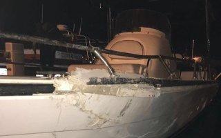 الإطفاء: اصابة شخصين في حادث تصادم قوارب بشاطيء البلاجات