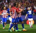 غريزمان يقود أتلتيكو مدريد لفوز صعب على ليستر سيتي في ذهاب ربع نهائي أبطال أوروبا