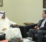 """""""المالية"""" تؤكد أهمية تعزيز العلاقات الاقتصادية مع منغوليا"""