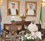 الشيخ محمد الخالد : حريصون على الارتقاء بمستوى الخدمات الطبية لمنتسبي القوات المسلحة