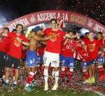 جيرونا يتأهل لدوري الدرجة الأولى الإسباني  لأول مرة في تاريخه