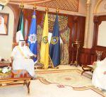 سمو ولي العهد يستقبل رئيس جهاز الأمن الوطني