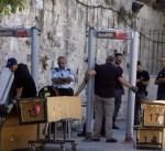 المعارضة الإسرائيلية تؤيد قرار نصب بوابات إلكترونية على مداخل الأقصى