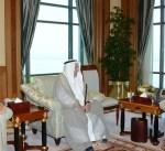 سمو الأمير يستقبل رئيس غرفة تجارة وصناعة الكويت