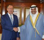 الشيخ صباح الخالد ووزير الخارجية الروسي يبحثان العلاقات الثنائية والمستجدات إقليميا ودوليا