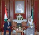 سمو رئيس مجلس الوزراء يستقبل رئيس الوزراء اللبناني