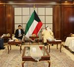 الجارالله يبحث مع مسؤول اقتصادي صيني التعاون المشترك