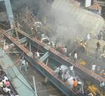 مصرع 16 هندياً إثر انهيار مبنى سكني بحي للمسلمين