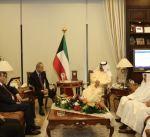 الجارالله يلتقي مستشار وزير الخارجية العراقي
