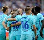 برشلونة يحقق فوزه الثاني تواليا في الدوري الإسباني بفضل ثنائية ميسي